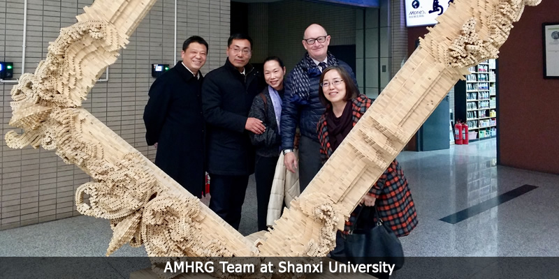 AMHRG team at Shanxi University.